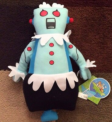 "Toy Factory 14"" Rosie Robot Stuffed Plush The Jetsons Nwt"