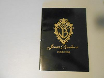 2008 Jonas Brothers Concert Tour Book, Look Me In The Eyes Tour,