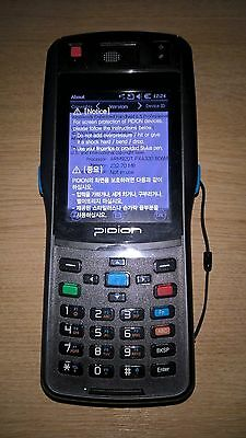 Pidion BIP-1500-A Rugged PDA + Barcode Scanner + Card reader