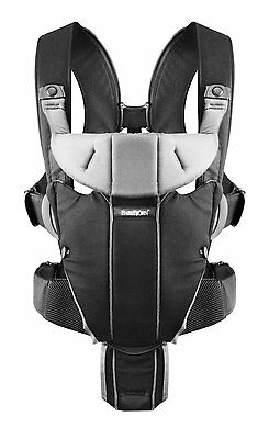 Baby Bjorn Miracle Black  Baby Carrier Bnib