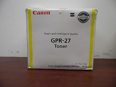 Canon GPR-27 Yellow Toner Cartridge 9642A008 [10C]
