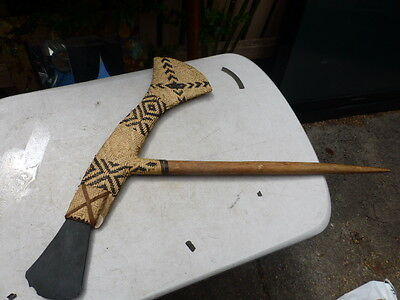 Papua New Guinea Tribal Stone Axe