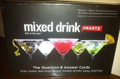 MIXED DRINK SMARTS GAME - New