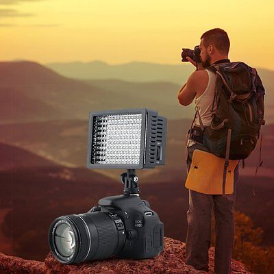 160 LED Studio Video Light For Canon Camera DV Camcorder Photography JN
