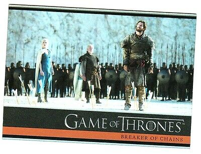 Game Of Thrones Season 4 Foil Parallel Base Card 9