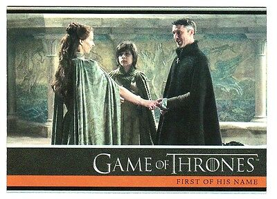 Game Of Thrones Season 4 Foil Parallel Base Card 13
