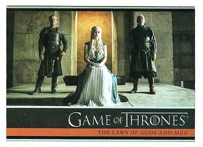 Game Of Thrones Season 4 Foil Parallel Base Card 16