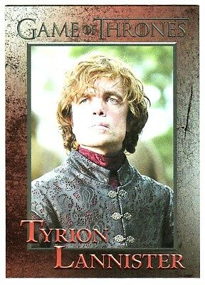 Game Of Thrones Season 4 Foil Parallel Base Card 34