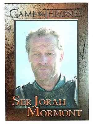 Game Of Thrones Season 4 Foil Parallel Base Card 55
