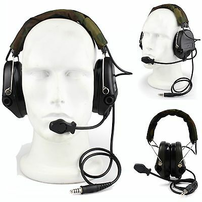 SORDIN 4 Noise Cancelling Tactical Headset For Airsoft Paintball CS Game EarMuff