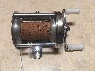Old vintage engraved pflueger summit reel vry nice for Fishing poles wow