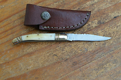 handmade baby Laguiole type Stainlles Steel knife From the Eagle Collection 9683