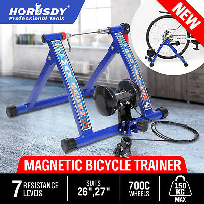 NEW  Indoor Bicycle Trainer Rollers Stationary Magnetic Stand Cycling Training
