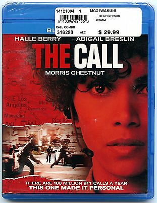 The Call (Blu-ray/DVD, 2013, 2-Disc Set - Blu-ray/DVD + Ultraviolet NEW SEALED