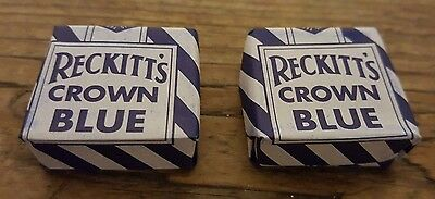 Reckitt's Crown Blue Laundry Cubes/Tablets Pack of 2