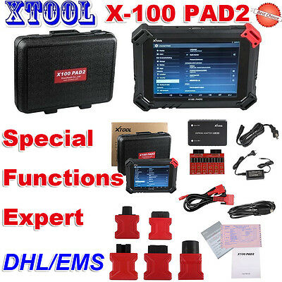 Nuovo XTOOL X-100 PAD2 OBD2 Auto Programmer Code Reader Scanner Special Function