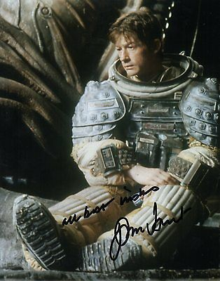 John Hurt Alien Signed 10-8 Photo
