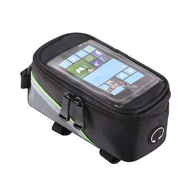 Bicycle Frame Pannier and Front Tube Cell Phone Bag BF
