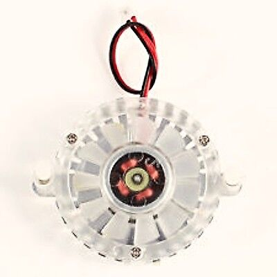 2 Pin 5.5cm Pitch 5cm Silver Tone VGA Video Graphics Card Cooling Fan & Heatsink