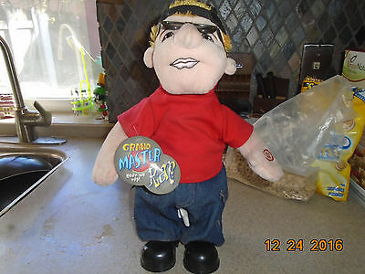 NWT RARE Grand Master Rap Figure Doll Sings Eminem Without Me Song Dance