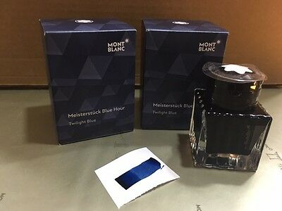 Montblanc Limited Edition Ink - Blue Hour Ink, Twilight Blue 35Ml