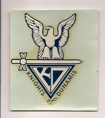 Knights of Dunamis Decal BSA Boy Scouts of America predecessor to NESA   A111