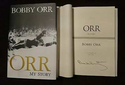 Boston Bruins Bobby Orr My Story SIGNED / Autographed Book Limited Edition!