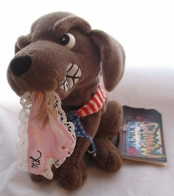 Meanies Buddy The Dog Infamous Series Meanie Babies Idea Factory 1998