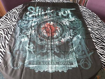 Slipknot - Des Moines  (New) Textile Poster Official Band Merch