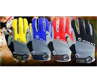 Outdoor Brand New GEL Full Finger Gloves Slip Mtb guantes ciclismo racing sport