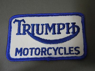 """TRIUMPH Motorcycles Sew-On Patch 3 1/2"""""""""""