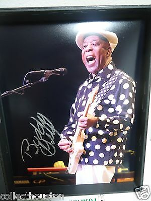 Chicago Blues Singer Buddy Guy Signed Autograph 11x14 Photo