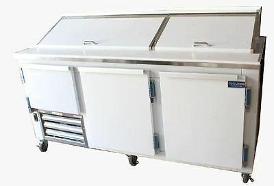 Coolman Commercial Refrigerated Sandwich Prep Table 72""
