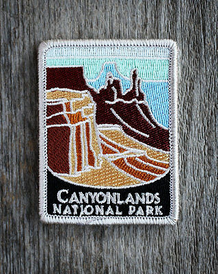 Canyonlands National Park Souvenir Patch Traveler Series Iron-on Utah