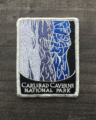 Carlsbad Caverns National Park Souvenir Patch Traveler Series Iron-on New Mexico