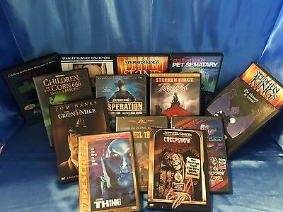 Large lot Used Stephen King DVD's (lot 2) - You Choose! - Updated 12/23/16