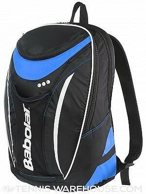 New Collection Babolat Badmnton Racket Backpack (Black-Blue)