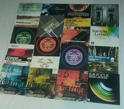"Ram Records Collection Drum and Bass bundle 12"" Vinyl Dnb job lot"