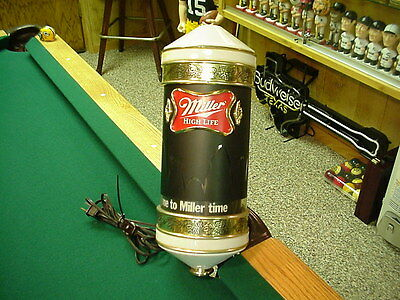 Miller Beer Bouncing Ball Sconce (works great)