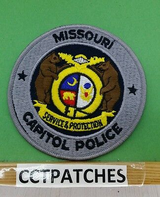 Missouri Capitol Police Shoulder Patch Mo