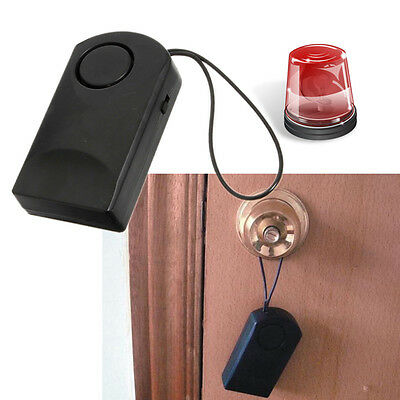 120db Wireless Touch Sensor Security Alarm Loud Door Knob Entry Anti  Theft FCT