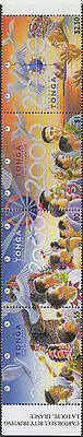 Tonga 1999 SG1462 New Millennium first issue strip MNH