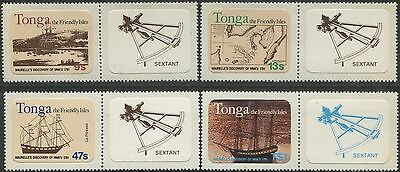 Tonga 1981 SG793 Maurelle's Discovery of Vava'u set with tabs MNH