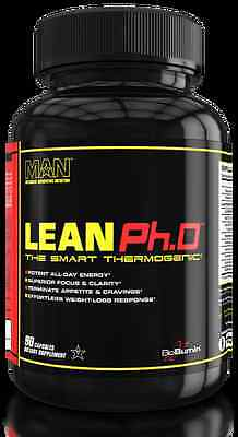 MAN Sports Lean Ph.D 90 Caps Thermogenic Fat Burner oxy hydroxycut shred xtreme
