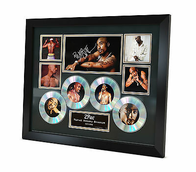 Tupac - 2Pac - Signed Music Memorabilia - Limited Edition of 250 - COA - Framed