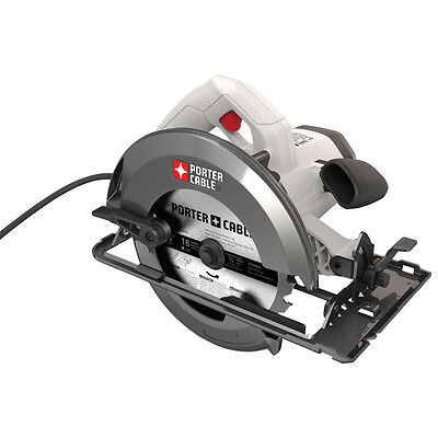 New PORTER-CABLE 15-Amp Heavy Duty Task Durable Steel Shoe Corded Circular Saw