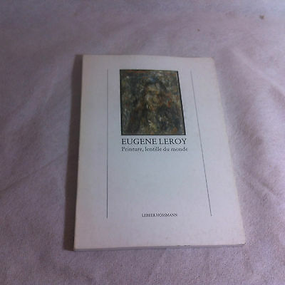 eugene leory 1979 Art Catalogue Brussels