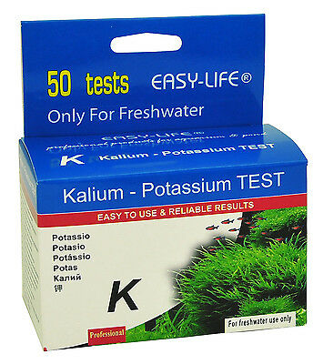 Easy-Life Kalium - Potassium - Test Set Kit for Aquarium Planted Tank Fertilizer