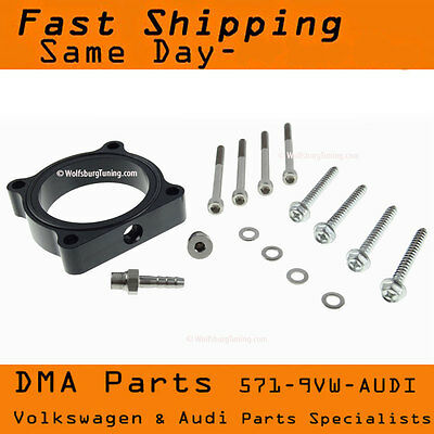 VW Audi Throttle Body Spacer 2.0T FSI TSI A3 A4 A5 Q5 TT CC Eos Golf GTI Jetta