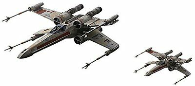 Star Wars X-wing starfighter Red Squadron 1/144 1/72 Set Model